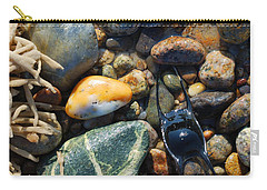 Rocks And Shells On Sandy Neck Beach Carry-all Pouch