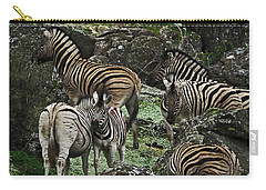 Rocks And Stripes Carry-all Pouch