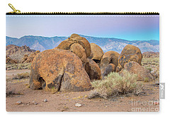 Rocks At Dusk Carry-all Pouch