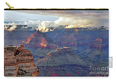 Rocks Fall Into Place Carry-all Pouch by Debby Pueschel