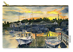 Rocktide Sunset Carry-all Pouch by Melly Terpening