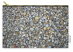 Carry-all Pouch featuring the photograph Rocky Beach 1 by Nicola Nobile