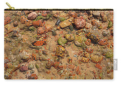 Carry-all Pouch featuring the photograph Rocky Beach 5 by Nicola Nobile
