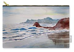 Rocky Beach Carry-all Pouch by Geni Gorani