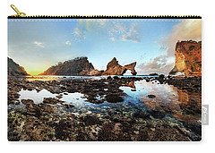 Rocky Beach Sunrise, Bali Carry-all Pouch