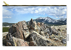 Rocky Crest At Big Horn Pass Carry-all Pouch