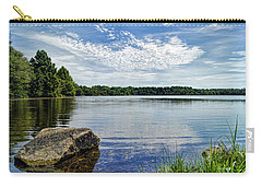 Rocky Fork Lake Carry-all Pouch by Cricket Hackmann