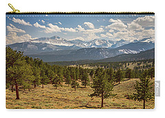 Carry-all Pouch featuring the photograph Rocky Mountain Afternoon High by James BO Insogna