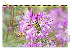 Carry-all Pouch featuring the photograph Rocky Mountain Bee Plant by Jennie Marie Schell