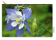 Rocky Mountain Blue Columbine Carry-all Pouch