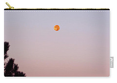 Rocky Mountain Dusk Moon Carry-all Pouch