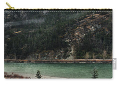 Rocky Mountain Foothills Montana Carry-all Pouch by Kyle Hanson