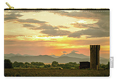 Carry-all Pouch featuring the photograph Rocky Mountain Front Range Country Landscape by James BO Insogna