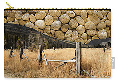 Carry-all Pouch featuring the photograph Rocky Mountain Sky by John Stephens