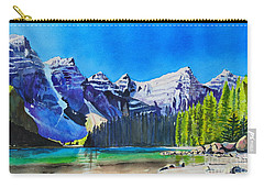Rocky Mountain Sunrise Carry-all Pouch