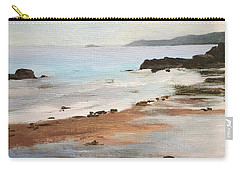 Rocky Neck Beach At Sunset Carry-all Pouch