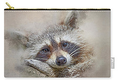 Rocky Raccoon Carry-all Pouch by Brian Tarr