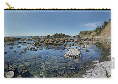 Rocky Sea Panorama Carry-all Pouch