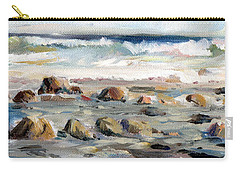 Rocky Seashore Carry-all Pouch