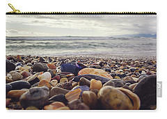 Carry-all Pouch featuring the photograph Rocky Shore by April Reppucci