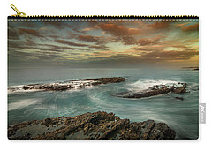 Rocky Shores At Victoria Beach Carry-all Pouch by Ralph Vazquez