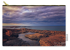 Rocky Storm Two Carry-all Pouch by Rachel Cohen