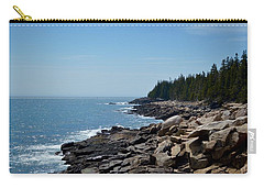 Rocky Summer Shore Carry-all Pouch