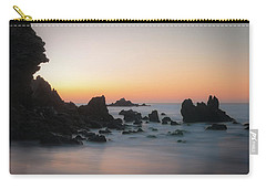 Rocky Sunrise Carry-all Pouch by Ralph Vazquez