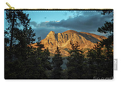 Rocky Sunset Carry-all Pouch by Patricia Hofmeester