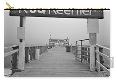 Rod And Reel Pier In Fog In Infrared 53 Carry-all Pouch