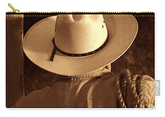 Rodeo Cowboy Carry-all Pouch by American West Legend By Olivier Le Queinec