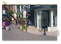Rodeo Drive, Beverly Hills, California Carry-all Pouch by Panoramic Images