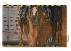 Rodeo Horse Carry-all Pouch by Lori Brackett