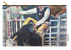 Rodeo Ride Carry-all Pouch by Linda Shackelford