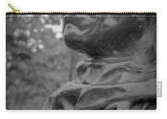 Carry-all Pouch featuring the photograph Rodin Burgher - II by Samuel M Purvis III