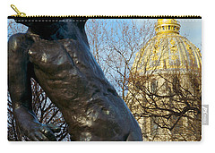 Rodin Playing With Napoleon Carry-all Pouch