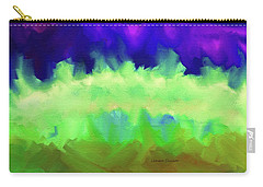 Carry-all Pouch featuring the painting Roil, Boil, Toil And Trouble by Lenore Senior