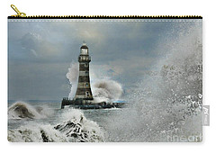 Roker Pier And Lighthouse Carry-all Pouch