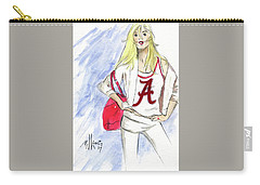 Roll Tide Carry-all Pouch by P J Lewis