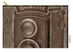 Carry-all Pouch featuring the photograph Rollie by Keith Hawley