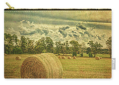 Rollin' Hay Carry-all Pouch by Lewis Mann