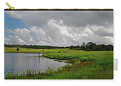 Carry-all Pouch featuring the photograph Rollin' In by Linda Brown