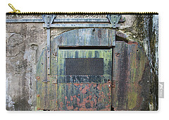 Rolling Door To The Bunker Carry-all Pouch