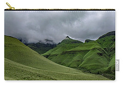 Carry-all Pouch featuring the photograph Rolling Green Drakensberg Mountains by Gaelyn Olmsted