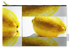 Carry-all Pouch featuring the photograph Rolling Lemons by Tina M Wenger