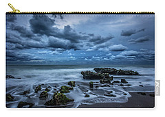Carry-all Pouch featuring the photograph Rolling Thunder by Debra and Dave Vanderlaan