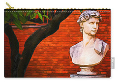 Roman Bust, Loyola University Chicago Carry-all Pouch