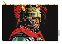 Roman Centurion Portrait Carry-all Pouch