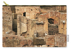 Carry-all Pouch featuring the photograph Roman Colosseum by Silvia Bruno