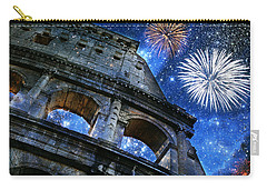 Roman Holiday Carry-all Pouch by Aurelio Zucco